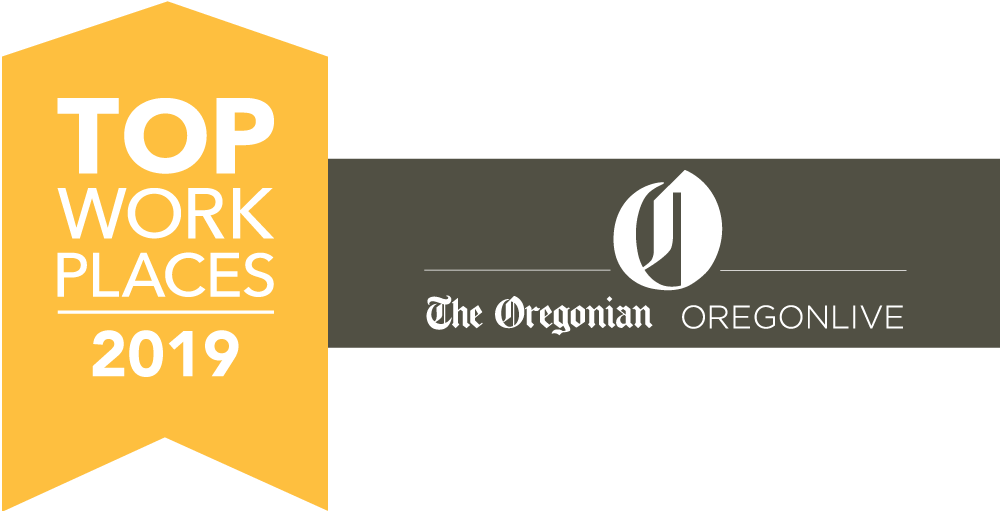Top Workplace Oregon 2019 Award