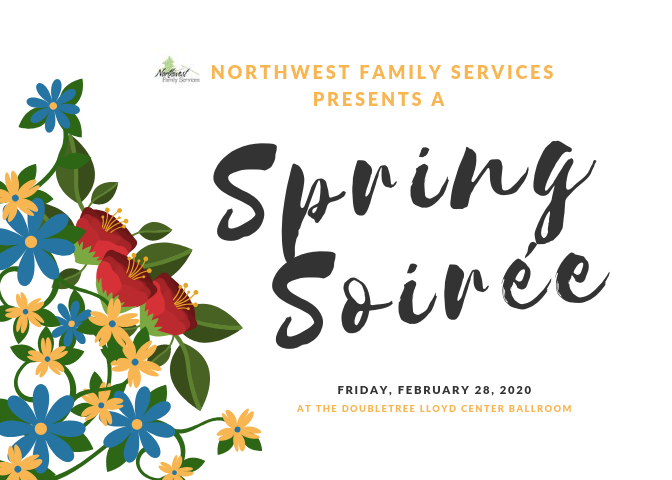 Spring Soiree Invite Front
